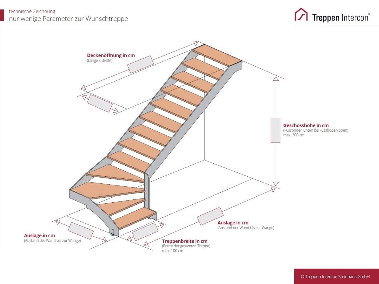 Laser Treppe 14 Gewendelt  Intercon Toronto Hier Kaufen von Außentreppe Mit Podest Berechnen Bild