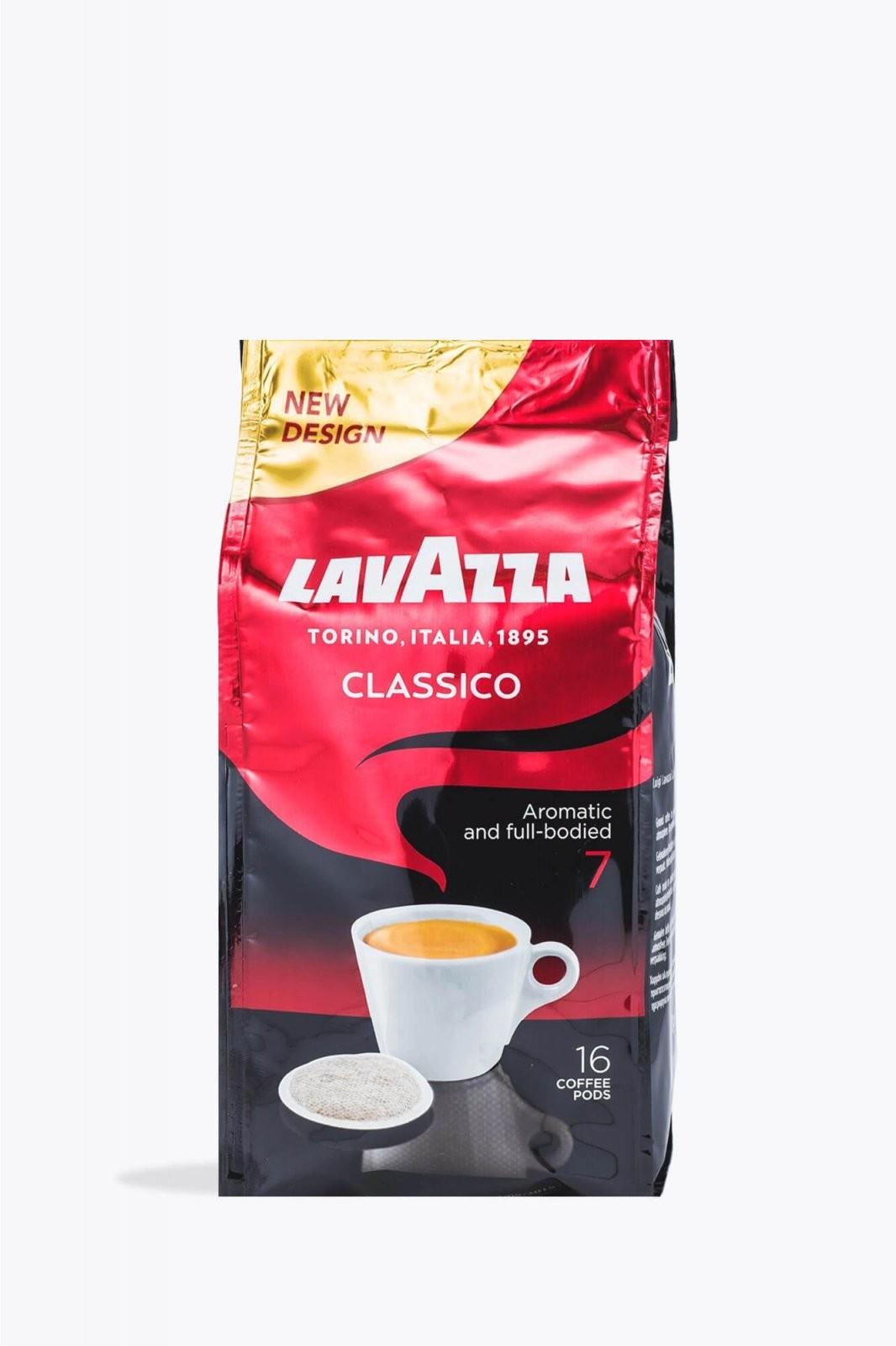 Lavazza Caffé Crema Classico 16 Pads Senseokompatibel Online Kaufen von Lavazza Crema Classico Angebot Photo