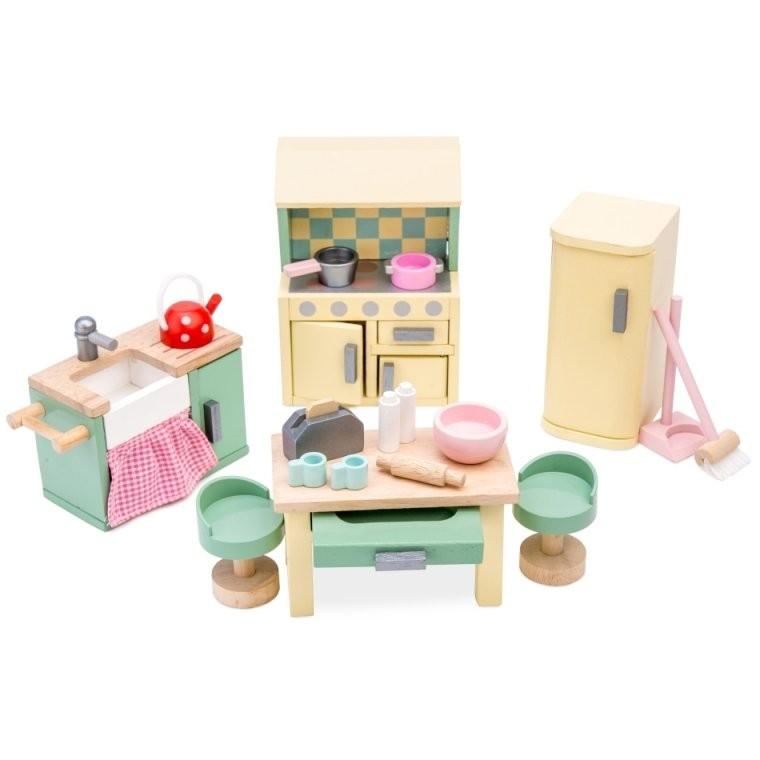 Le Toy Van Puppenhaus Möbel Aus Holz 'küche' Mintpastell 18Teilig von Le Toy Van Küche Photo
