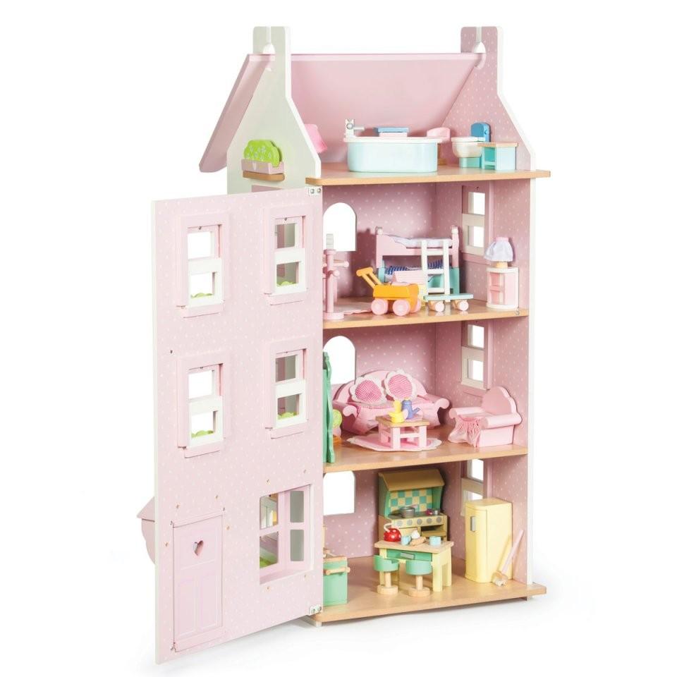 Le Toy Van Puppenhaus Victoria Stadthaus H149  Pirumholzspielzeuge von Le Toy Van Küche Photo