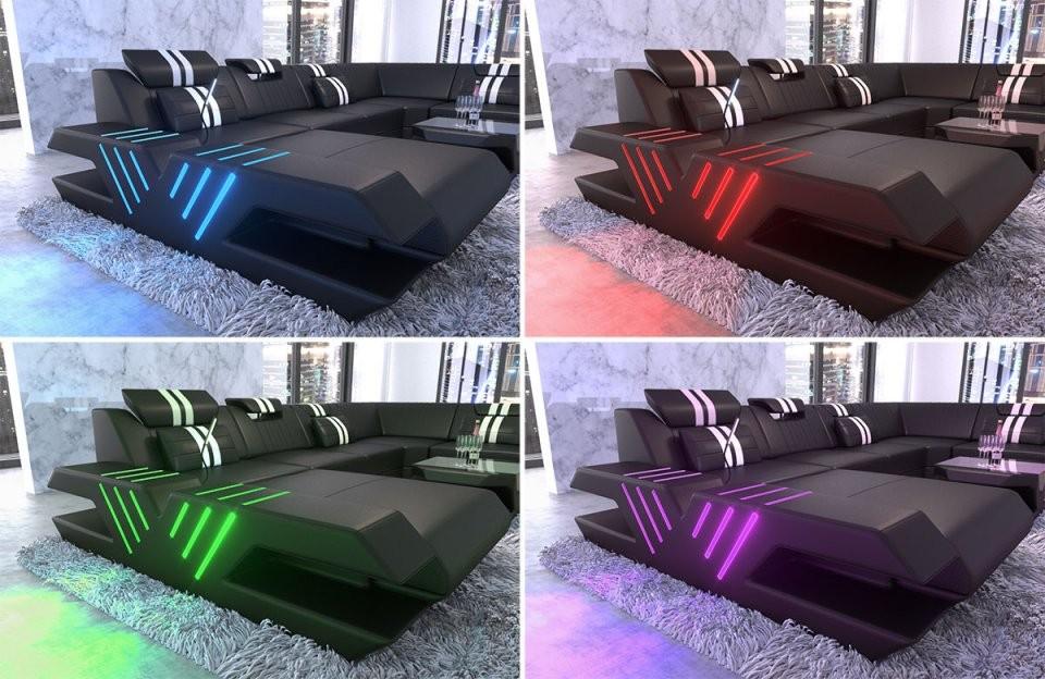 Led Beleuchtung Für Sofas von Couch Mit Led Beleuchtung Bild