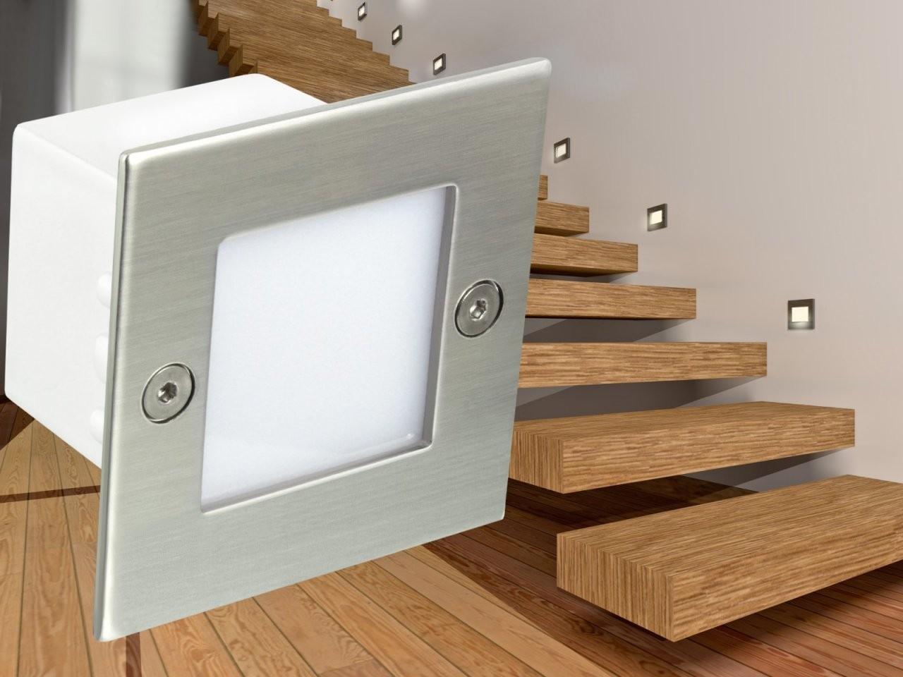 Led Deckenleuchte Küche Led Treppenleuchten von Led Treppenlicht Mit Bewegungsmelder Bild
