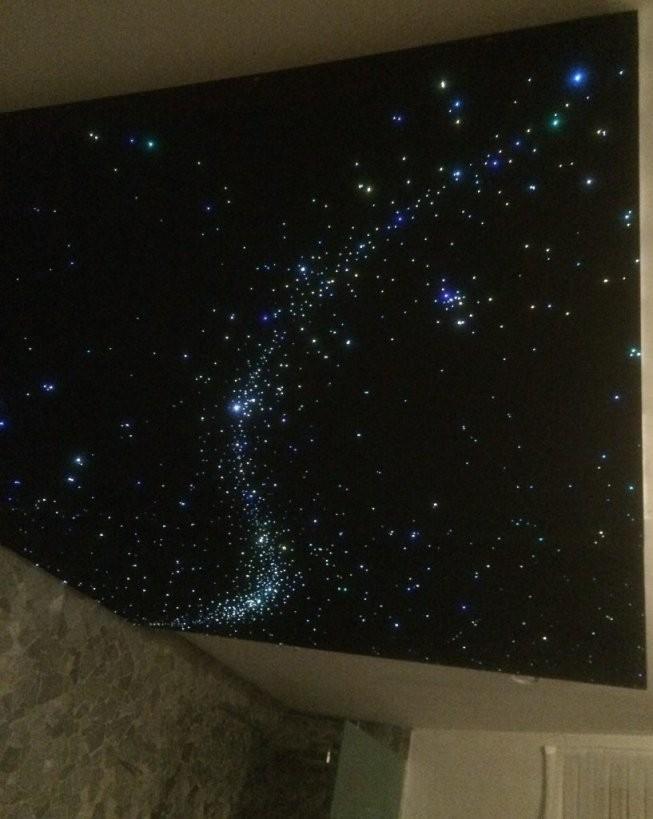 Led Sternenhimmel Decke Beleuchtung Fertig Kaufen Shop  Mycosmos von Sternenhimmel Lampe Selber Bauen Photo