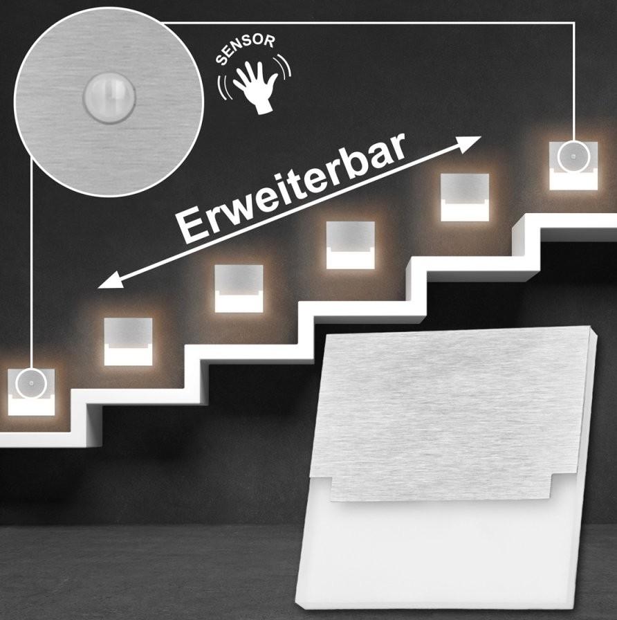 Led Treppenbeleuchtung Mit Bewegungsmelder  Ledando  Ledando von Led Treppenlicht Mit Bewegungsmelder Photo