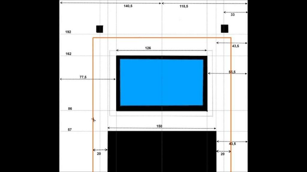 Led Tv Wand Selber Machen  Bauanleitung Zum Selberbauen  12Do von Tv Wand Bauen Anleitung Bild