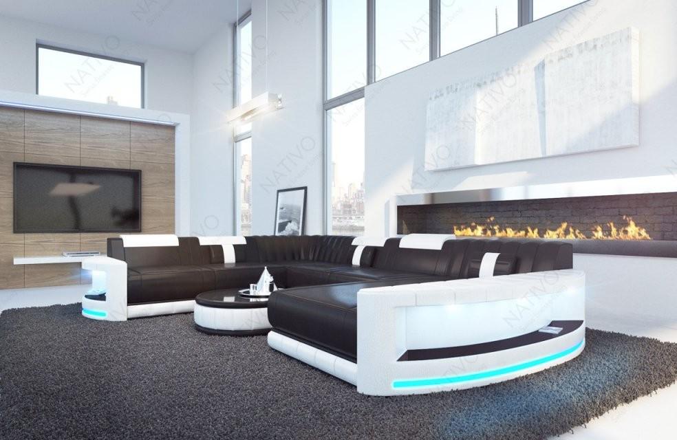 Ledersofa Atlantis Bei Nativo Möbel Oesterreich Günstig von Couch Mit Led Beleuchtung Photo