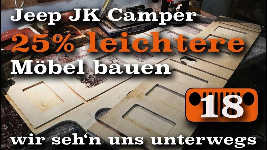 Leichte Möbel Für Den Microcamper Bauen  Ausbauvlog 18 von Camping Möbel Selber Bauen Photo