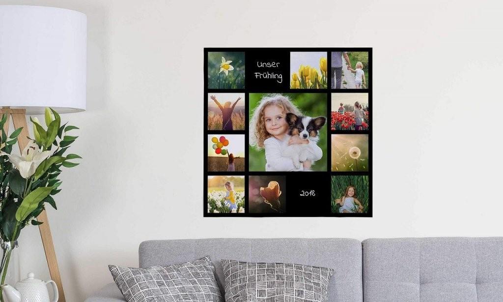 Leinwand Fotocollage Awesome Fotocollage Auf Leinwand Selber von Leinwand Collage Selber Gestalten Bild