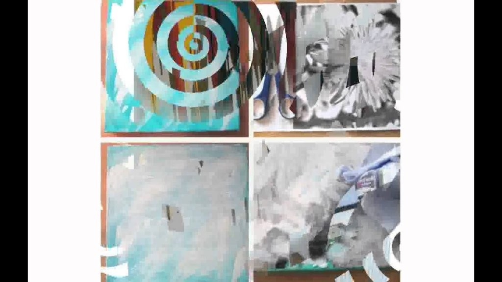 Leinwandbilder Selber Machen  Youtube von Moderne Bilder Selber Malen Photo