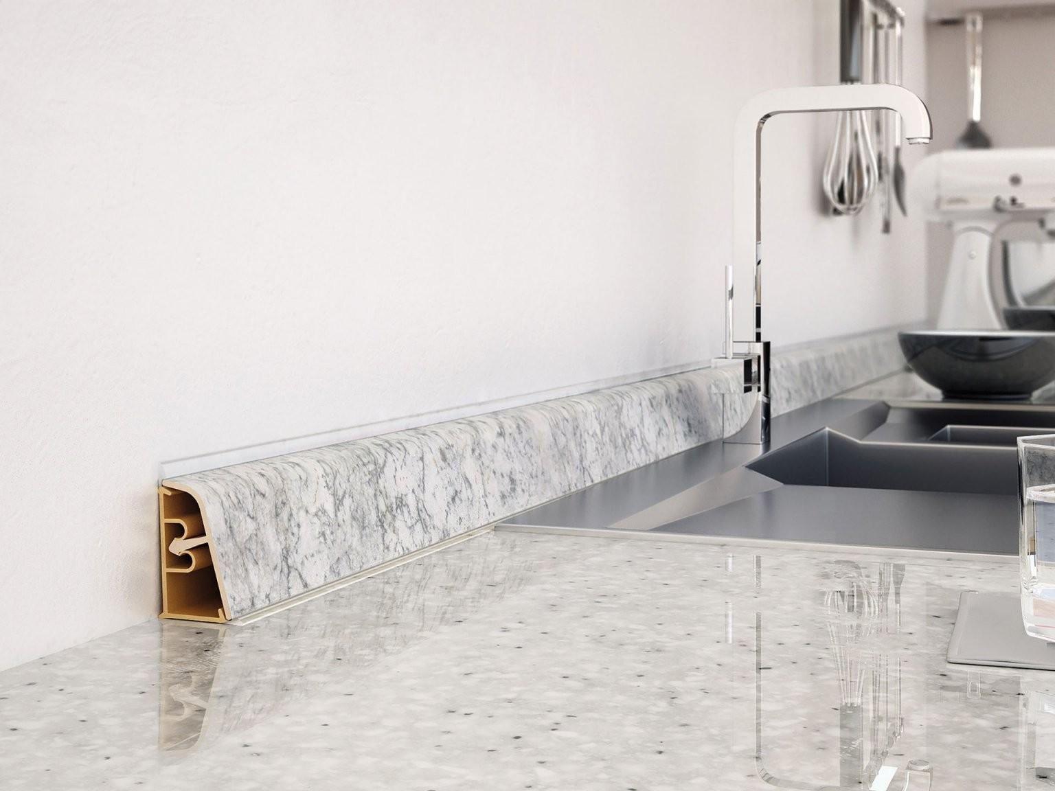 Leisten Für Küchenarbeitsplatten  Wandanschlussprofile  Fn von Leiste Für Arbeitsplatte Küche Bild
