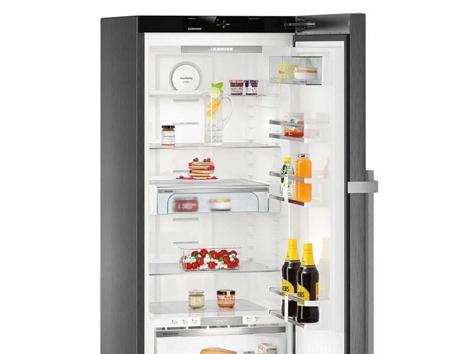 Liebherr Kbbs 4350 Premium Biofresh Standkühlschrank Blacksteel A+++ von Liebherr Kbies 4350 Premium Biofresh Bild