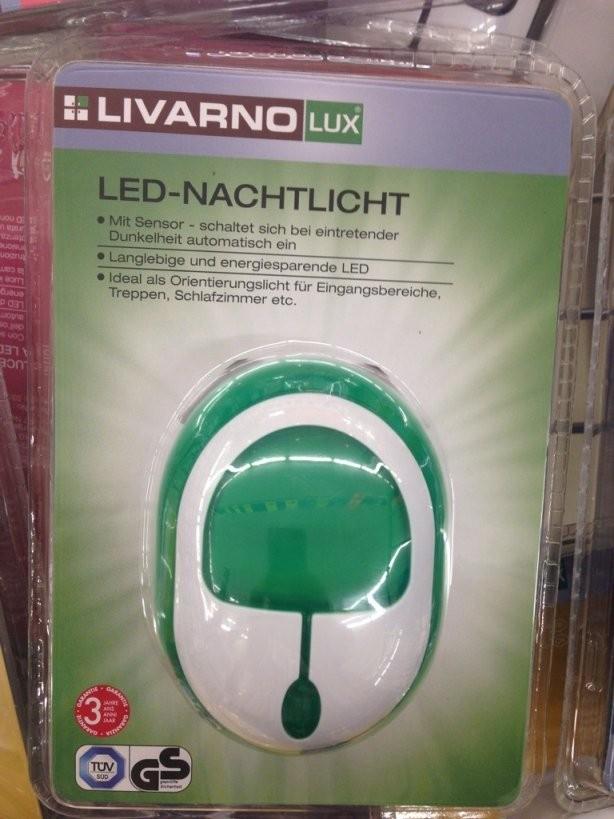 Livarnolux Lednachtlicht Beim Discounter Lidl von Livarno Lux Led Nachtlicht Photo