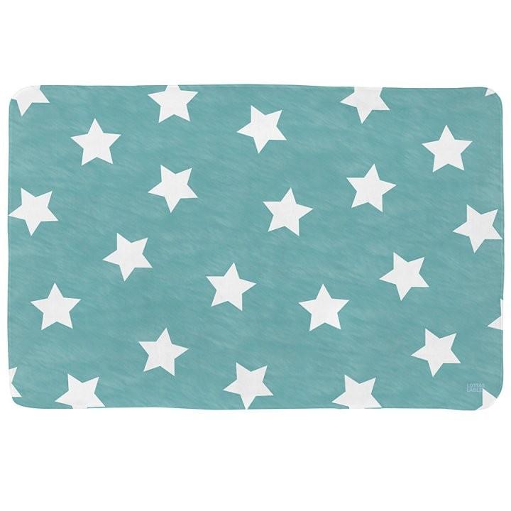 Lottas Lable Kinderteppich Sterne Türkis  Greyslabel von Lottas Lable Teppich Sterne Bild