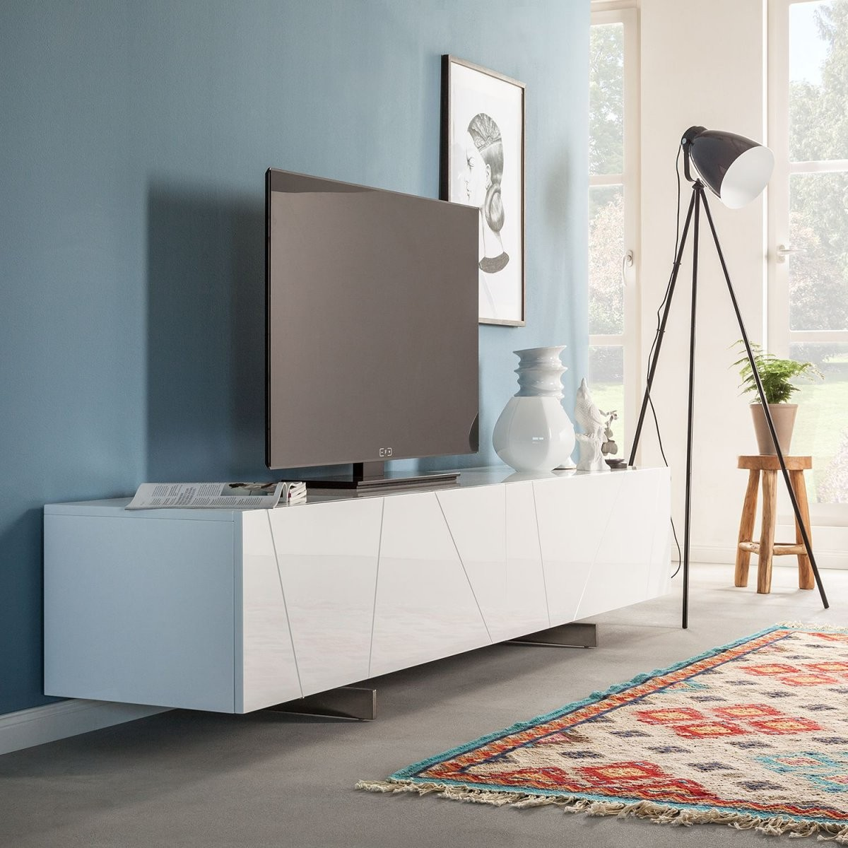 Lowboard Von Roomscape Bei Home24 Kaufen  Home24 von Tv Lowboard Weiß Hochglanz Hängend Photo