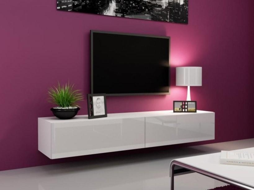 Lowboard Weiß Günstig Online Kaufen  Real von Tv Lowboard Weiß Hochglanz Hängend Bild
