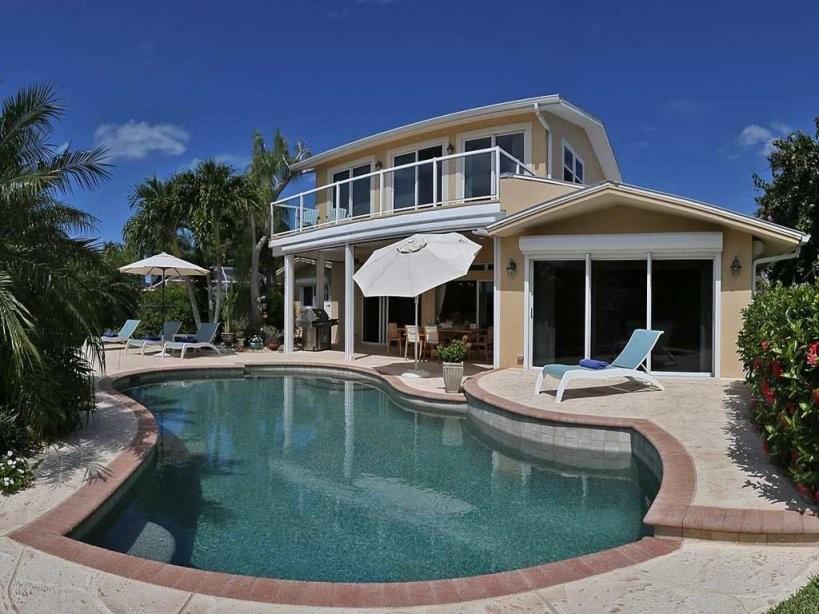 Luxe Villa Trop Tuin Zonne  Elektrisch Beheiz Zwembad von Fort Myers Haus Mieten Bild