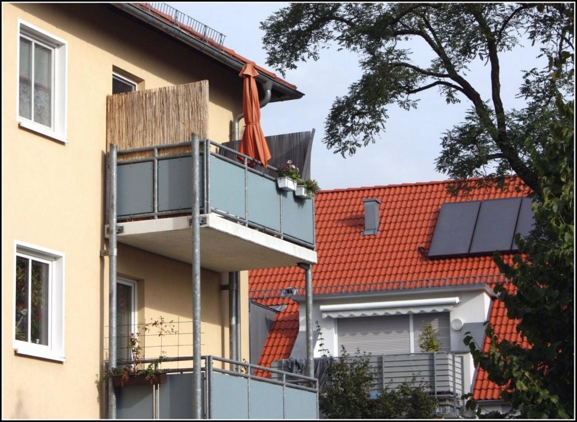 Luxurios Sichtschutz Balkon Seitlich Ohne Bohren Galerie von Balkon Sichtschutz Seite Ohne Bohren Bild
