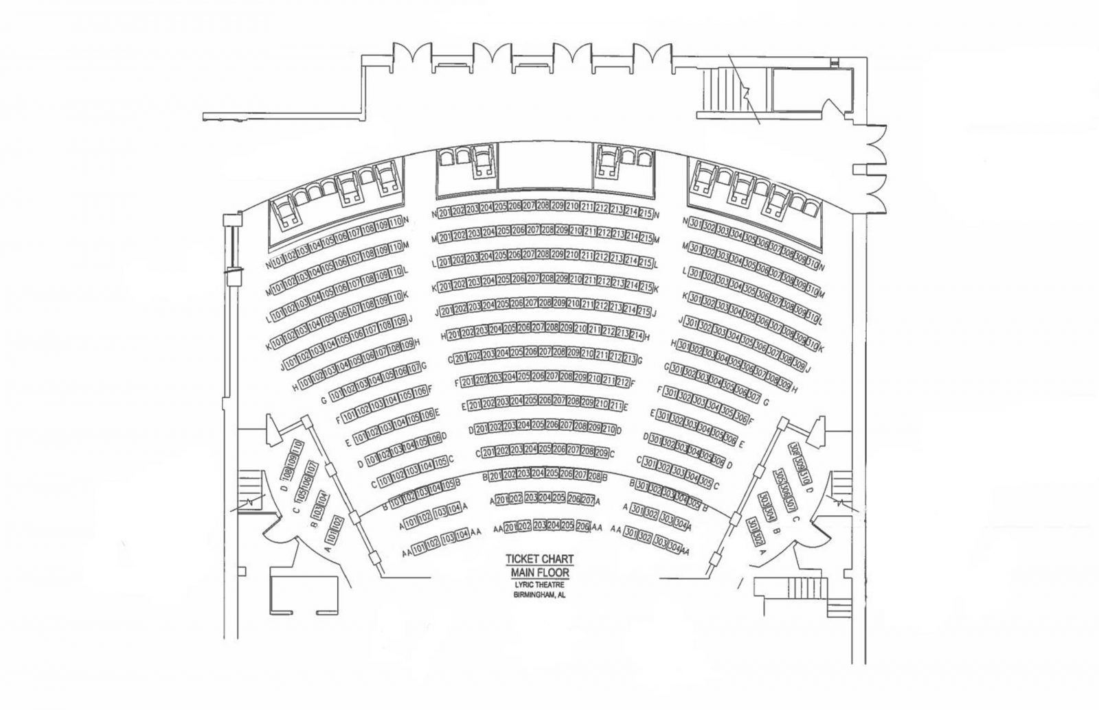 Lyric Seating Charts von Lyric Opera Seating Chart Photo