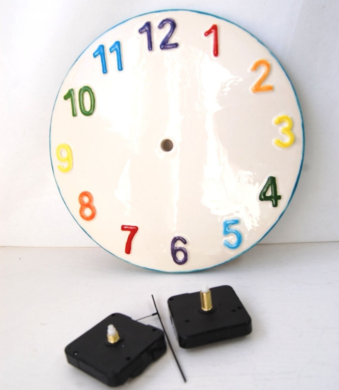 Make Your Own Clock Paint Your Own Designsartwork Onto Our Clock von Make Your Own Clock Photo