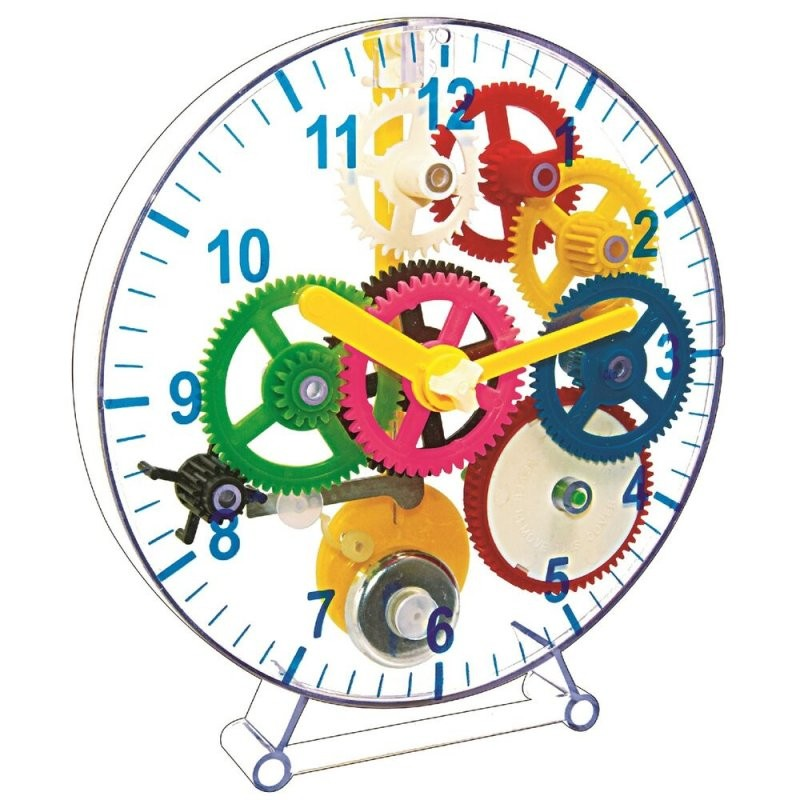 Make Your Own Wind Up Clock 22Cm Diameter Discovery Science You Gift von Make Your Own Clock Bild
