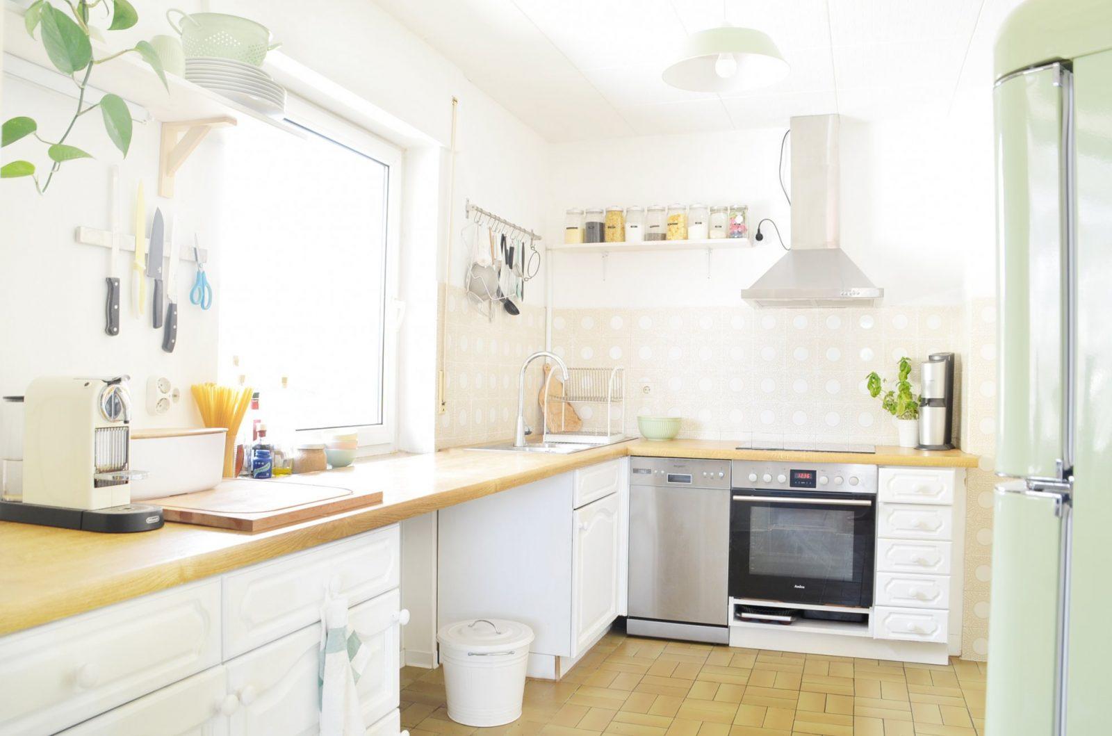 Makeover Küche Verschönern Vorhernachher (Teil 2) – Bonny Und Kleid von Küche Verschönern Vorher Nachher Bild