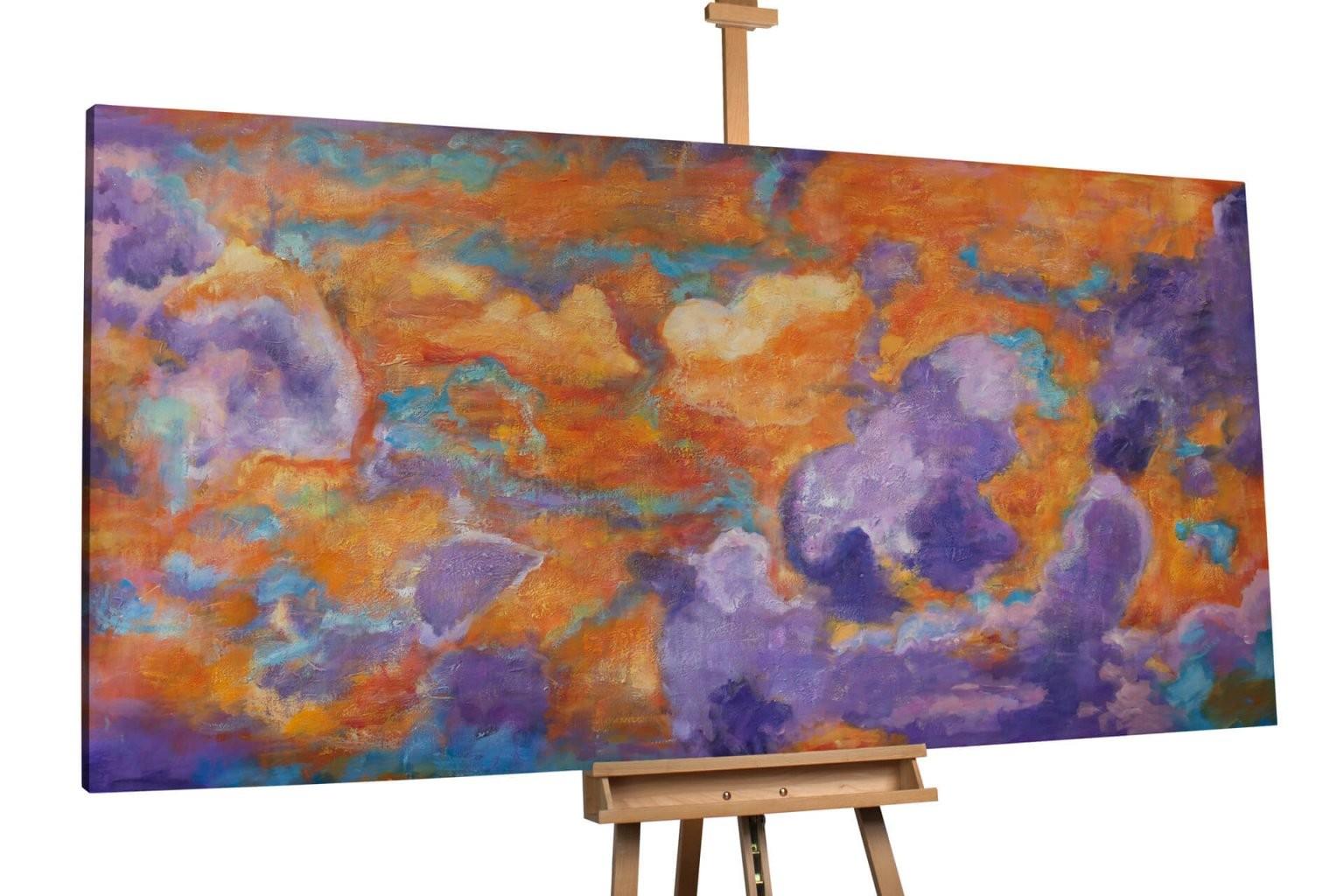 Malerei Gemälde Auf Keilrahmen Bild Abstrakt Leinwand Struktur von Bilder Leinwand Abstrakt Keilrahmen Photo