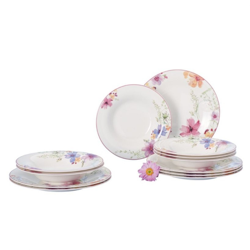 Mariefleur Basic Dinner Set 12 Pieces Villeroy  Boch von Villeroy Boch Royal Basic Photo