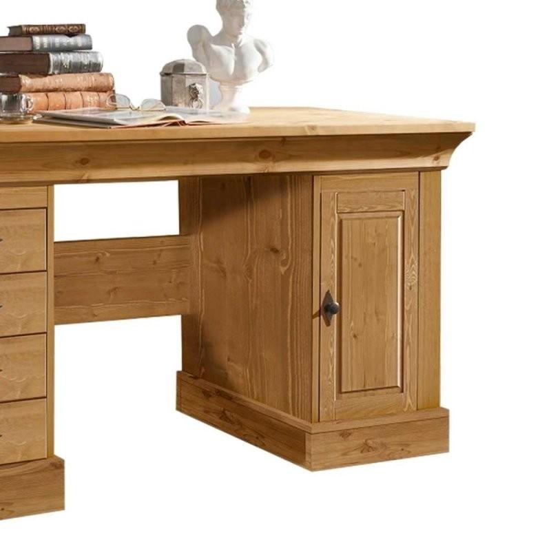 Massivholz Schreibtisch Piatra Aus Kiefer Gelaugt Wohnen von Computertisch Kiefer Gelaugt Geölt Photo