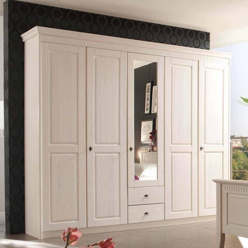Massivholzschrank  Edle Massivholzschränke Online Kaufen  Wohnen von Kleiderschrank Weiß Landhaus Günstig Bild