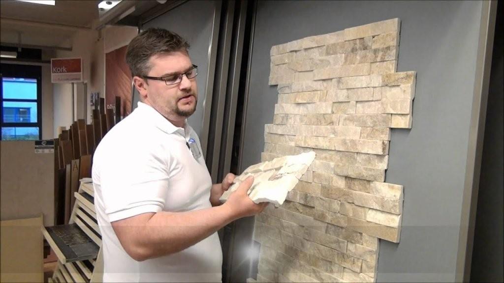 Mauerverblender Naturstein Verblender Gold Quarzite  Youtube von Wandverkleidung Steinoptik Innen Kunststoff Bild
