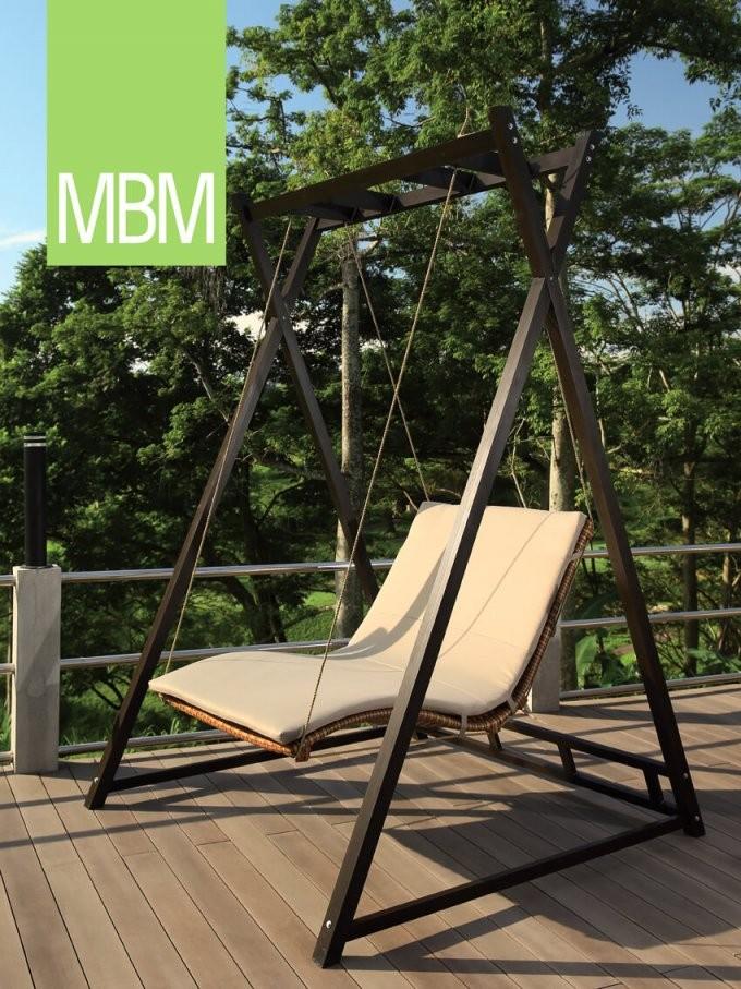 Mbm Mirotex Gartenschaukel Heaven Swing  Toodesign Gartenmöbel von Mbm Heaven Swing Doppelliege Photo