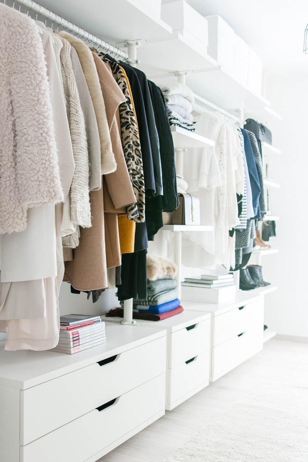 Mein Ankleidezimmer  Ein Wohntraum Wird Wahr  New Digs von Begehbarer Kleiderschrank Ikea Stolmen Photo