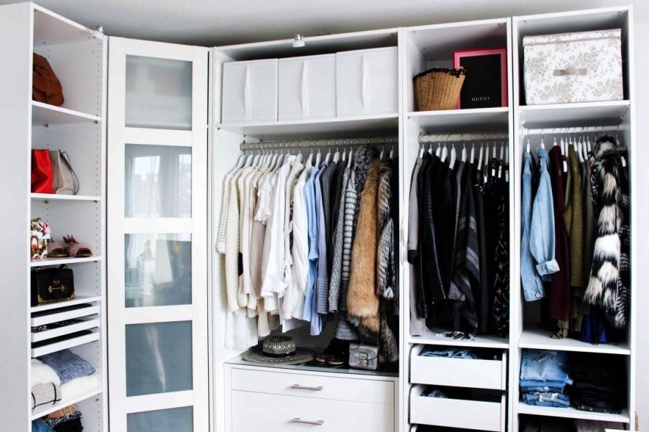 Mein Ankleidezimmer  Tipps Für Den Pax Kleiderschrank von Ikea Schrank Selber Planen Bild