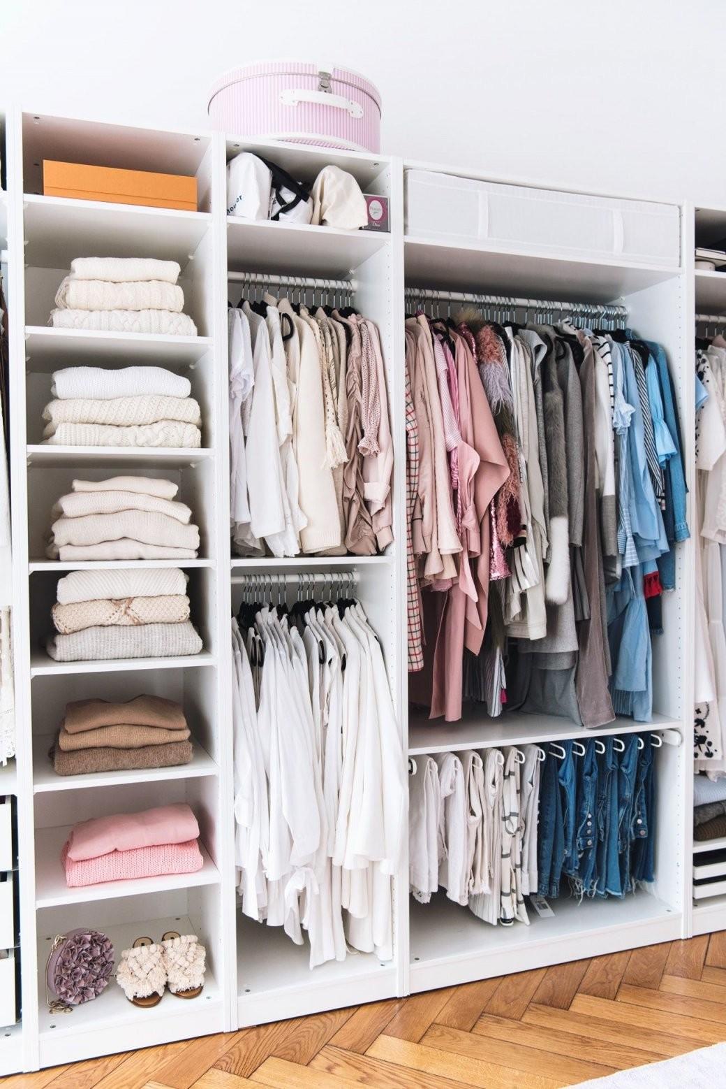 Mein Begehbarer Kleiderschrank  Kasten  Slaapkamerideeën Pax Kast von Begehbarer Kleiderschrank Ikea Pax Photo