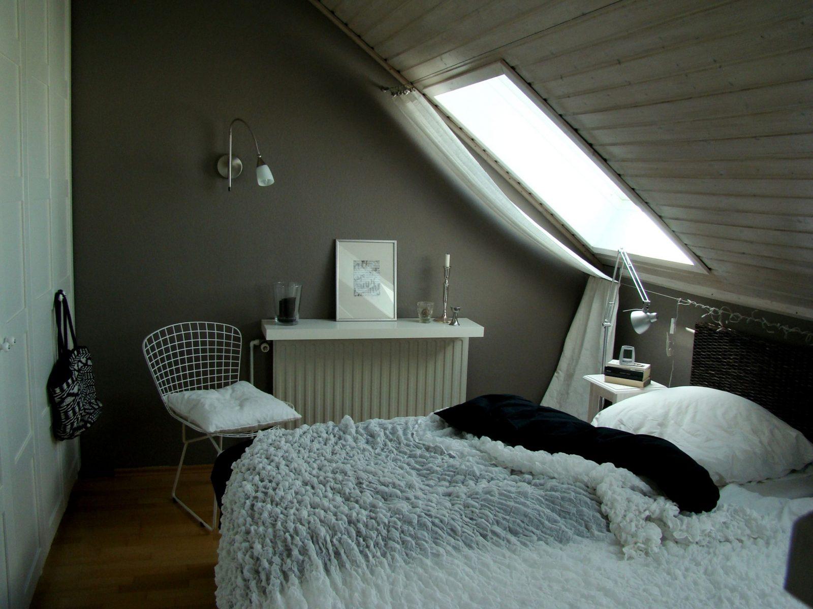 Mein Schlafzimmer In 2019  Bedroom  Schlafzimmer Dachschräge von Einrichtungsideen Schlafzimmer Mit Dachschräge Photo