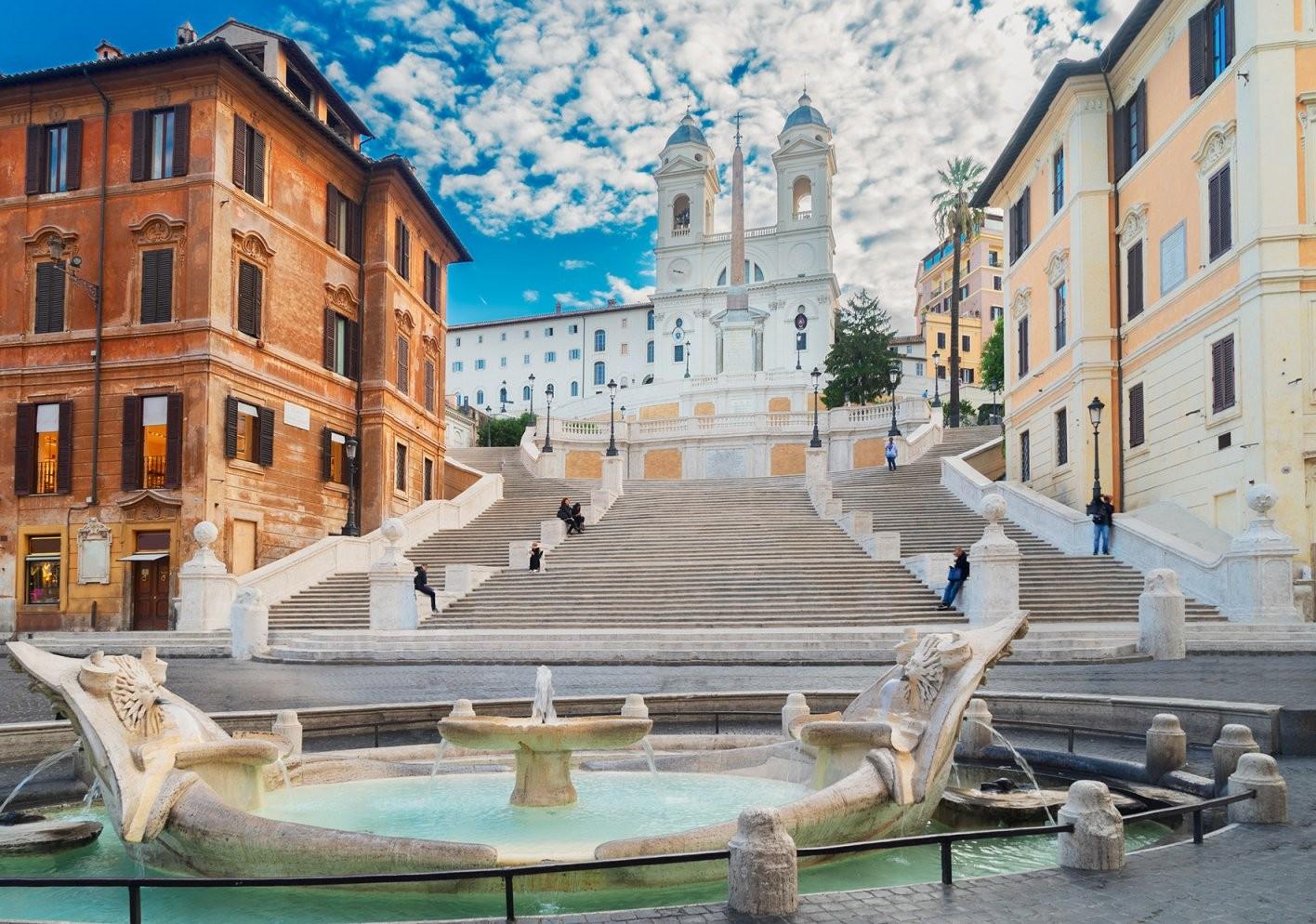 Meine Rom Tipps Für Eine Unvergesslichte Städtereise von Spanische Treppe Rom Gesperrt Photo