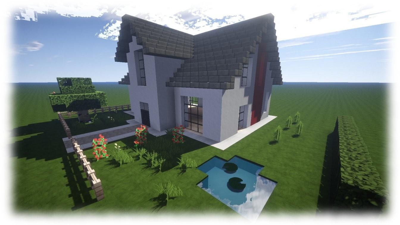 Meine Schönen Minecraft Häuser  Minecraft Häuser Bauen Webseite von Coole Minecraft Häuser Zum Nachbauen Bild