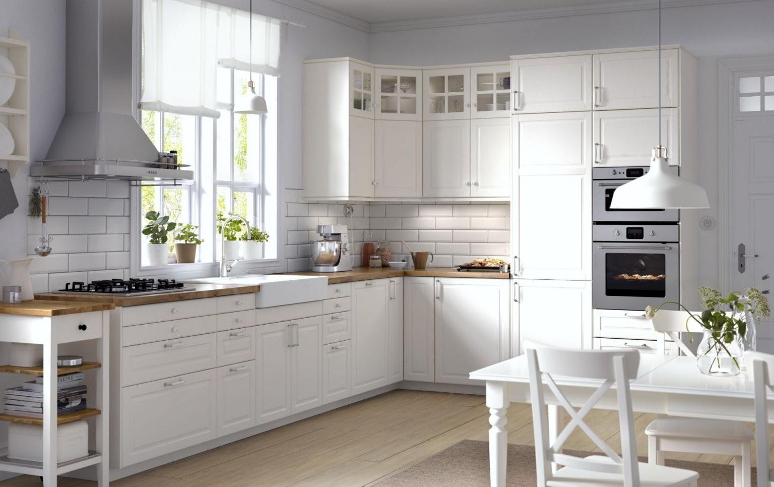 Metod Keuken  Ikea Ikeanl Keukensysteem Landelijk Wit Hout von Ikea Küche Metod Bodbyn Bild