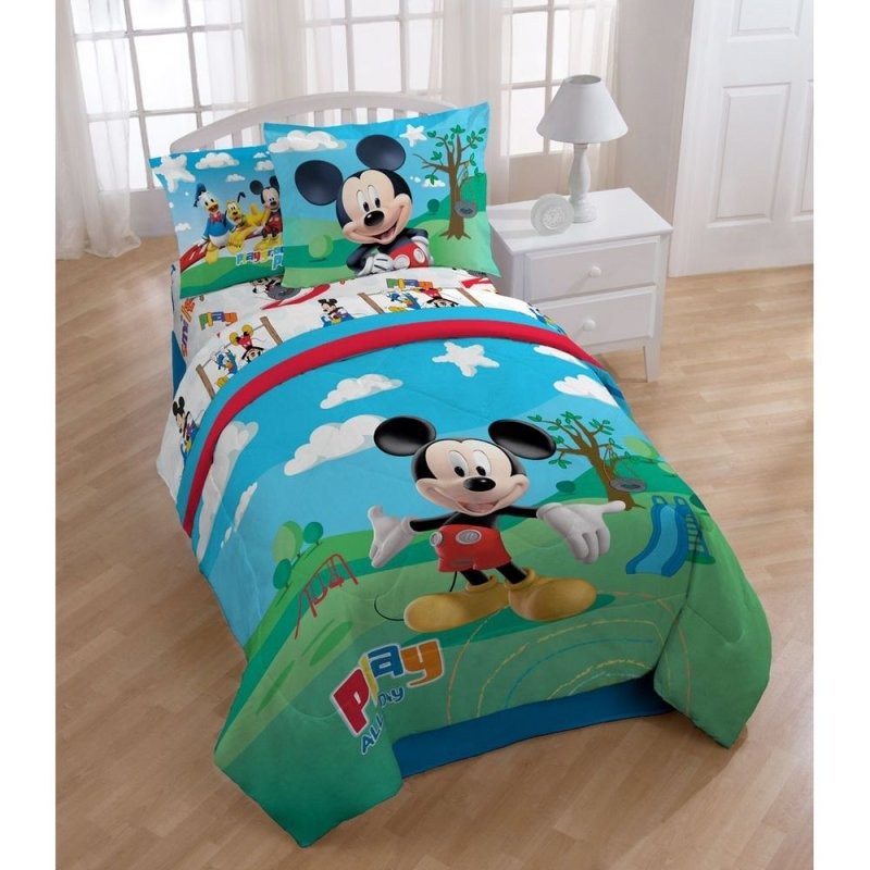 Mickey Mouse Clubhouse 8Piece Bed In A Bag With Sheet Set von Baby Bettwäsche Mickey Mouse Photo