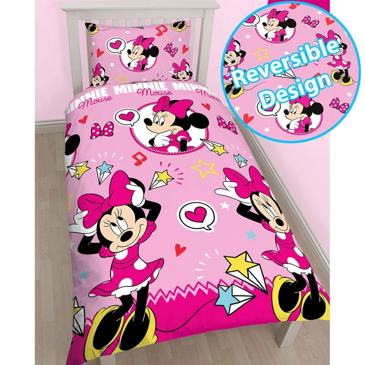 Mickey Tagesdecke Minnie Maus Kindermöbel Mickey Mouse Bettbezug von Micky Und Minni Maus Bettwäsche Bild