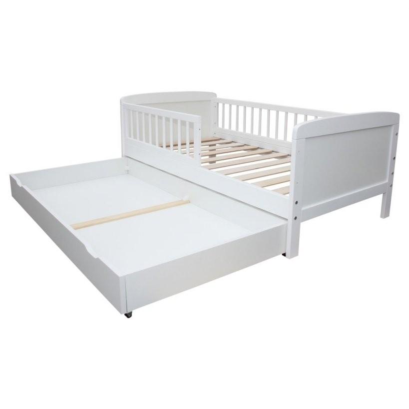 Micoland  Schublade Für Kinderbett  Juniorbett 140X70 Cm Weiss von Kinderbett Weiss Mit Schublade Bild