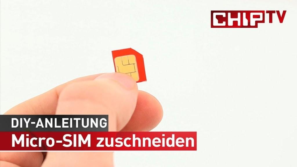 Microsim Im Eigenbau  Tutorial Deutsch  Chip  Youtube von Nano Sim Auf Micro Sim Adapter Selber Bauen Photo