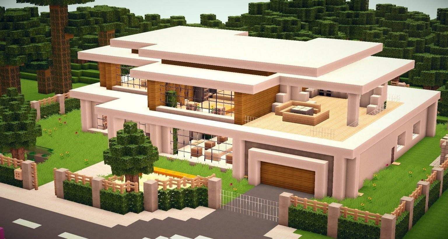 Minecraft Haus Modern 05  Minecraft  Minecraft Minecraft Haus Und von Minecraft Häuser Modern Zum Nachbauen Photo