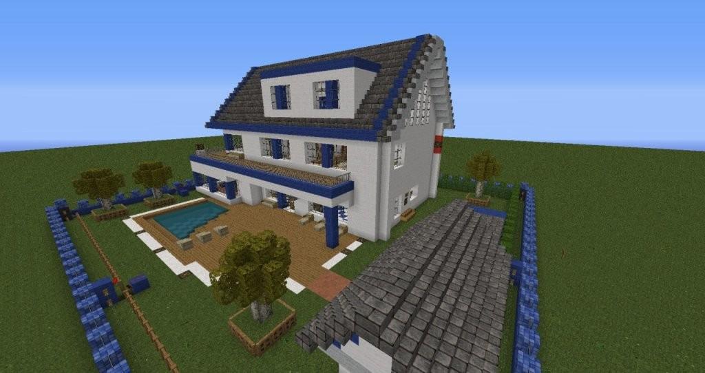 Minecraft Häuser Zum Nachbauen Anleitung von Minecraft Häuser Zum Nachbauen Anleitung Bild
