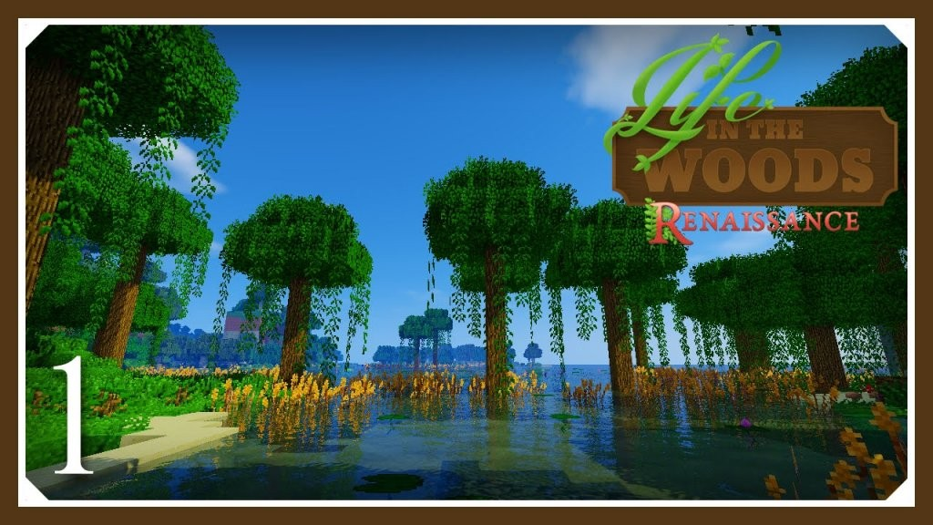 Minecraft Life In The Woods Renaissance Hungry  Life In The Woods von Life In The Woods Minecraft Photo