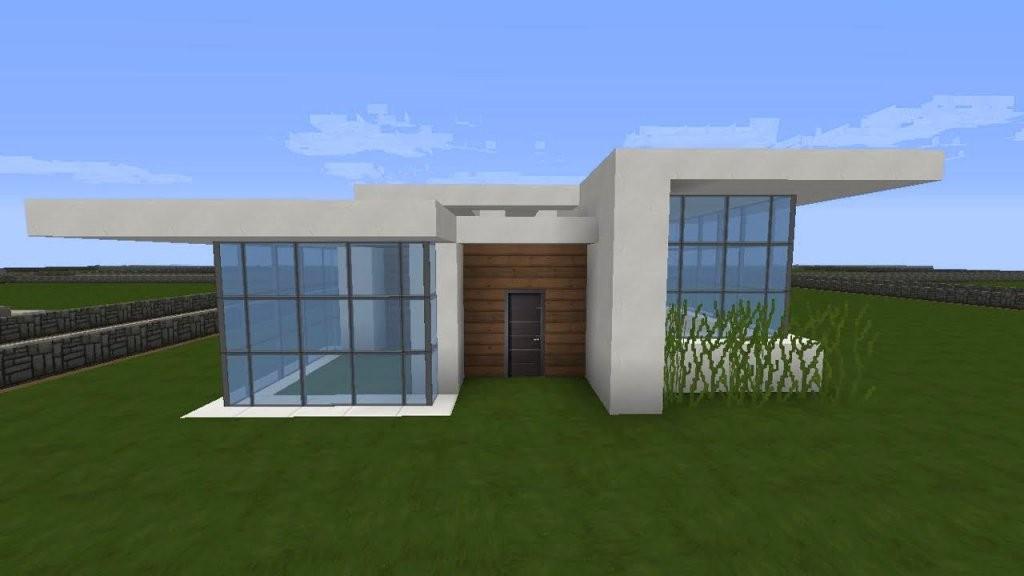 Minecraft Modernes Haus Dienstag  Fichtenholzweiß Bauen  Tutorial von Minecraft Modernes Haus Bauen Anleitung Photo