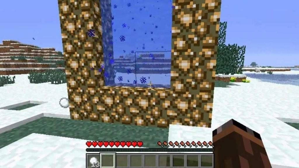 Minecraft Tutorial Ein Aether Portal Bauen [Deutschhd]  Youtube von Minecraft Baupläne Zum Nachbauen Bild