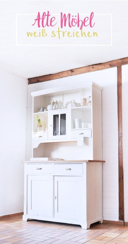 Möbel Mit Kreidefarbe Streichen Ohne Schleifen von Paneele Streichen Ohne Schleifen Bild
