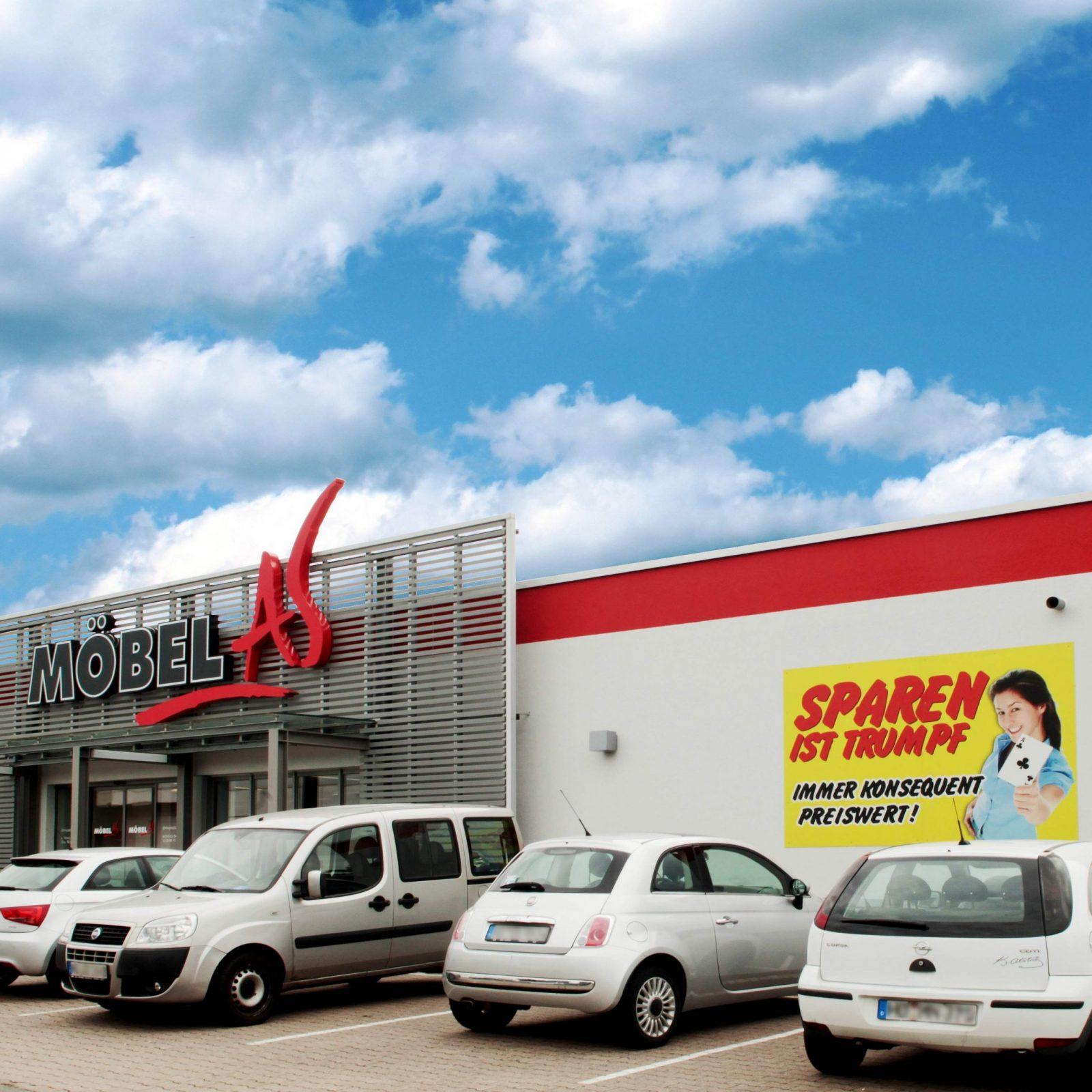 Möbelmarkt Sandhausen  Gleich Entdecken  Möbel As 15X In Deutschland von Möbel As Buchen Angebote Bild