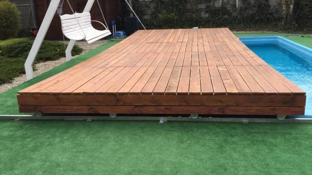 Mobile Pool Deck Terrace  Pool  Poolabdeckung Pool Ideen Und von Pool Deck Selber Bauen Bild